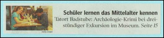 aus: Schwäbische Zeitung vom 30.05.2017